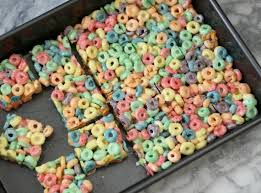 fruit treats fruit loop treats peanut butter and peppers