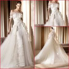 china off shoulder ball gown lace flower wedding dress h13426