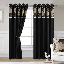 Black Gold Curtains Catchy Black And Gold Curtains And Black Eyelet Curtains Fully