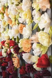 wedding backdrop tutorial diy flower wedding backdrop tutorial with crepe blooms diy