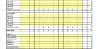 examples of profit and loss spreadsheets profit loss spreadsheet