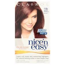 3 x clairol nice u0027n easy permanent hair colour natural medium