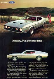 ford mustang ad directory index mustang 1971