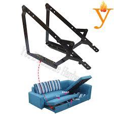 canap lit pliant meubles en métal cadre charnière pour canapé lit pliant mécanisme