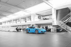 porsche showroom our new facility