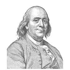 benjamin franklin face sideview transparent png stickpng
