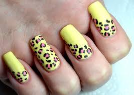 summer matte leopard print easy nail art tutorial youtube