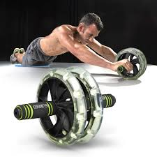enkeeo ab wheel roller body workout fitness abdominal total core
