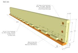 plans for wood bed frame how to build a amazing diy woodworking