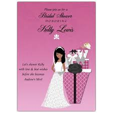 Make Your Own Bridal Shower Invitations African American Bridal Shower Invitations African American Bridal