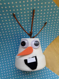 diy disney u0027s frozen olaf christmas ornament mommadjane