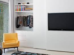 bedroom furniture sets built in wall units wardrobe with tv