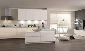 cuisine blanc mat sans poign lignea cuisine blanc mat sans poignee une cuisine hyper épurée