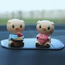 Car Decoration Accessories Buy Wholesale Car Decoration Accessories Two Hearts Pigs Cute Pigs