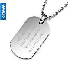 mens personalized necklace fancy idea mens engraved necklaces necklace all collections of dog
