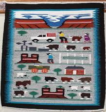 pictorial navajo rug antique native american rugs for sale