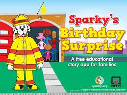 sparky u0027s birthday surprise