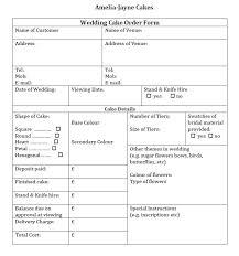 wedding cake order form wedding cake order form idea in 2017 wedding