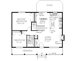 country style house plan 2 beds 1 00 baths 900 sq ft plan 18 1027