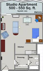 Studio Apartment Layout Apartments At Huron Towers