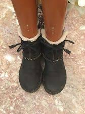 ugg s rianne boots womens ugg australia 5136 cove black shearling ankle boots sz 5 ebay