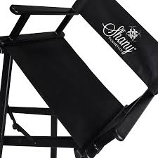 Makeup Chairs For Professional Makeup Artists Studio Director Chair Makeup Artists Chair Black Shany Cosmetics