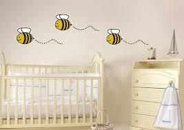 Bumble Bee Nursery Decor Bumble Bee Home Decor Transformer Bumble Bee Wall Decals