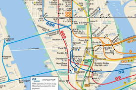 New York Mta Map Should New York U0027s Subway Map Embrace Nj U0027s Path Trains Curbed Ny