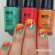 plump and polished nyc in a new york color minute quick dry nail