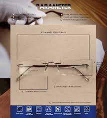 aliexpress com buy rimless super light glasses frame spectacle