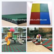 safety kids playground rubber flooring mat kindergarten rubber