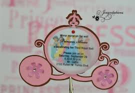 princess birthday party invitations jingvitations