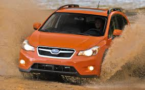 orange subaru crosstrek 2013 subaru xv crosstrek u s spec first drive motor trend