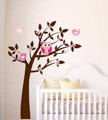 adorable owl wall decals for nursery decoration u0026 furniture