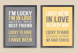 wedding quotes message personalized quote print set of two prints song lyrics poem