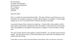 Business Letter Return Address sle letter to brans docs