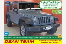 used jeep wrangler unlimited rubicon for sale used jeep wrangler for sale special offers edmunds