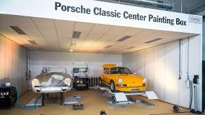 porsche garage art france porsche opens classic zentrum