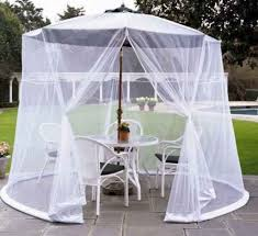Mosquito Netting For Patio Umbrella Offset Patio Umbrella With Mosquito Net Probably Fantastic Ideal