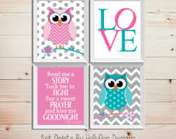 Nursery Owl Decor Owl Nursery Nursery Wall Baby Nursery Wall Decor