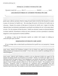 Power Of Attorney Form For Medical by Download Wisconsin Medical Power Of Attorney Form Wikidownload