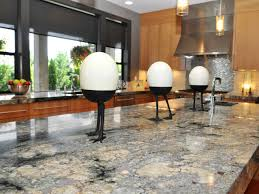 marble countertops kitchen island with granite top lighting