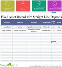 Fixed Asset Register Excel Template Fixed Asset Disposal Form Excel Template124