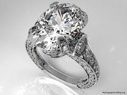large engagement rings engagement wedding rings