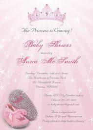 princess baby shower invitations badbrya com