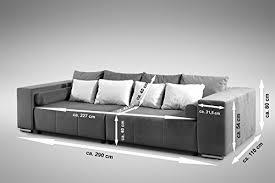 big sofa mit schlaffunktion und bettkasten modernes schlafsofa sofa big sofa in braun schlaffunktion