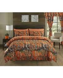 Orange Camo Bed Set New Savings On Regal Comfort King Size Woods Orange Camouflage