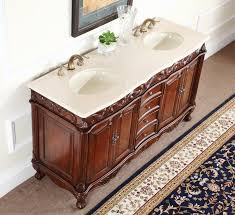 Bathroom Vanity 20 Inches Wide Adelina 64 Inch Antique Double Bathroom Vanity Fully Assembled