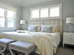 small ceiling lamp for grey bedroom ideas with big window plus