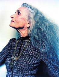 collections of elderly women with long hair cute hairstyles for